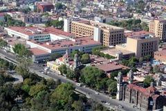 Mexico - stadssikt, Mexico royaltyfri fotografi
