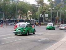 mexico Taxiar av Mexico Fotografering för Bildbyråer