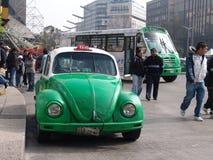 Mexico. Taxicabs of Mexico Stock Photos