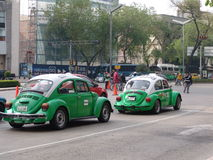 Mexico. Taxicabs of Mexico Stock Photo