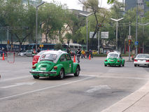 Mexico. Taxicabs of Mexico Stock Image