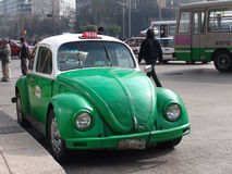 Mexico. Taxicabs of Mexico Royalty Free Stock Photography