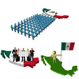 Mexico teamwork business team Stock Photography