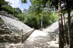 Mexico tempel Arkivbilder