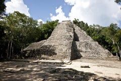 Mexico tempel Arkivbild