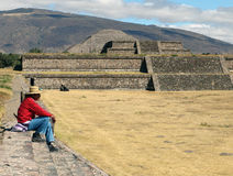 Mexico. Teotihuacan pyramids Royalty Free Stock Images