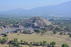 Mexico. Teotihuacan. Royalty Free Stock Photos