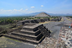 Mexico. Teotihuacan. Royalty Free Stock Image