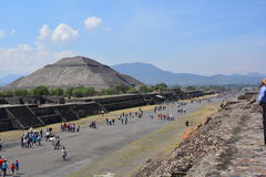 Mexico. Teotihuacan. Royalty Free Stock Photography