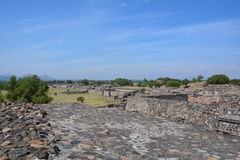 Mexico. Teotihuacan. Stock Images