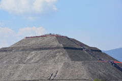Mexico. Teotihuacan. Royalty Free Stock Photo