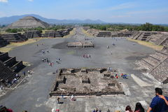 Mexico. Teotihuacan. Royalty Free Stock Images
