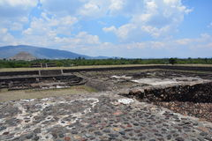 Mexico. Teotihuacan. Stock Photos