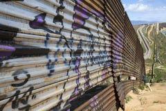 Mexico - Tijuana - The wall of shame