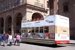 Mexico tour bus Stock Photography