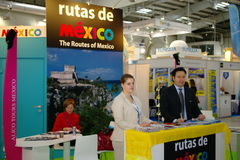 Mexico Tourist Board at TT Warsaw Royalty Free Stock Images