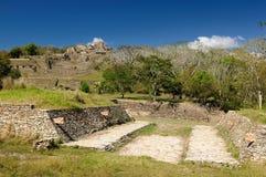 Tonina Maya ruins in Mexico Royalty Free Stock Image
