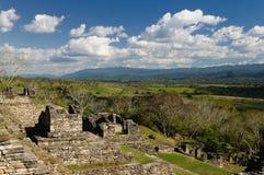 Tonina Maya ruins in Mexico Royalty Free Stock Photos