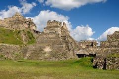 Tonina Maya ruins in Mexico Royalty Free Stock Photo