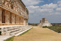Uxmal Maya ruins in ucatan, exico Stock Photos