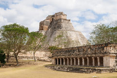 Uxmal Maya ruins in ucatan, exico Stock Photography