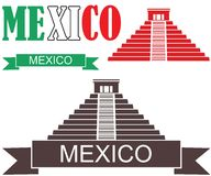 Mexico. Vector illustration (EPS 10 Royalty Free Stock Image