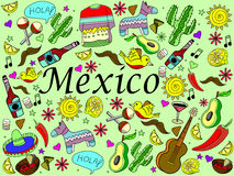 Mexico vector illustration Stock Photography