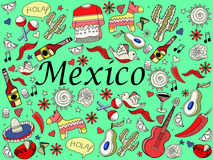 Mexico vector illustration Stock Photos