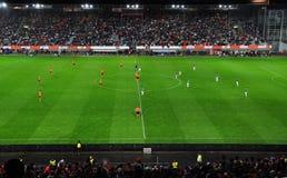 Mexico vs. Netherlands friendly soccer match Royalty Free Stock Photo