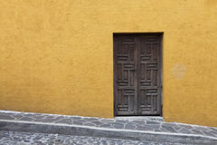 Mexico Wall and Door Stock Photography