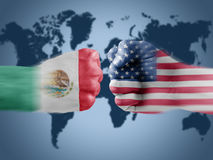 Mexico x usa Stock Images