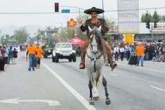 Mexikan-amerikan ryttare royaltyfria foton