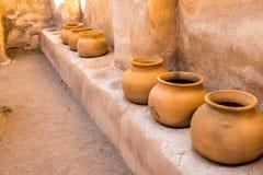 Mexikan Clay Pottery Royaltyfri Fotografi