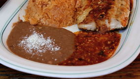 Mexikan grillad fisk lager videofilmer