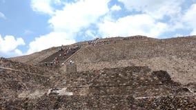 Mexikan Teotihuacan Fotografering för Bildbyråer