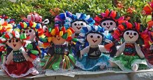 Mexikaner angefüllte Puppen Stockbilder