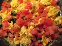 Mexikanische Art-Eier zum Frühstück lizenzfreies stockbild