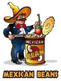 Mexikanische Bohnen Stockbild