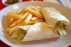 Mexikanische Burritos Lizenzfreie Stockfotos