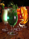 Mexikanische Cocktails stockbilder