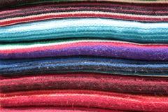 Mexikanische Decken Stockfoto
