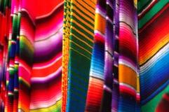 Mexikanische Decken Stockfotos