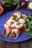 Mexikanische Enchilada Stockfoto