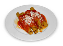 Mexikanische Enchiladas Stockfotos