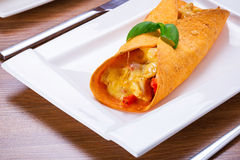 Mexikanische Enchiladas Lizenzfreie Stockfotos