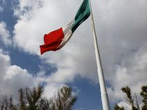 Mexikanische Flagge stockfoto