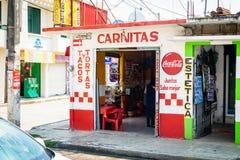 Mexikanische Gaststätte Lizenzfreie Stockfotos