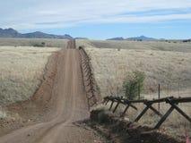 Mexikanische Grenze lizenzfreie stockbilder