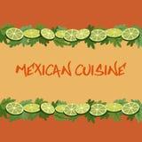 Mexikanische Küche Lizenzfreie Stockfotografie