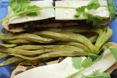 Mexikanische Kaktusblätter für das Kochen Stockfotografie